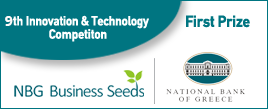 1st Winner in NBG Business Seeds